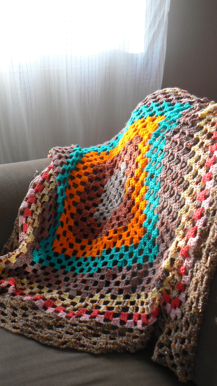 Como hacer una manta de ganchillo bed mattress sale - Hacer manta de ganchillo ...